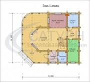 Проект Премьер-3 - План 1 этажа